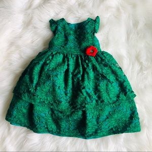 Laura Ashley Toddler Green Dress